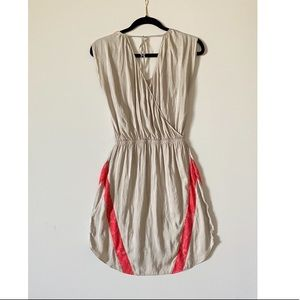 Express mini dress with lace detail